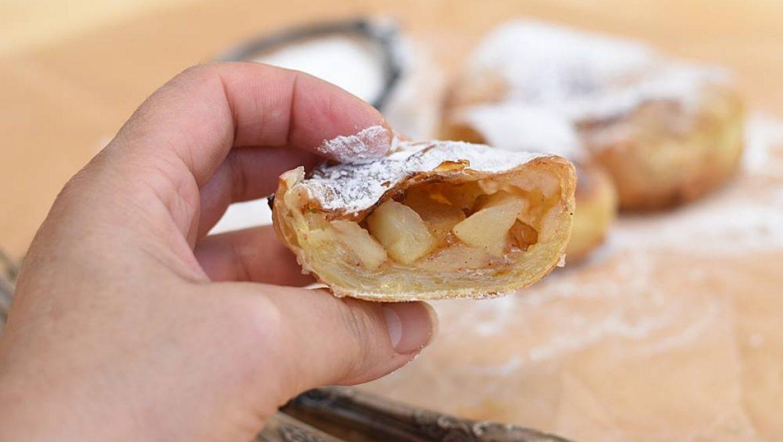 שטרודל תפוחים מדפי אורז (ללא גלוטן)