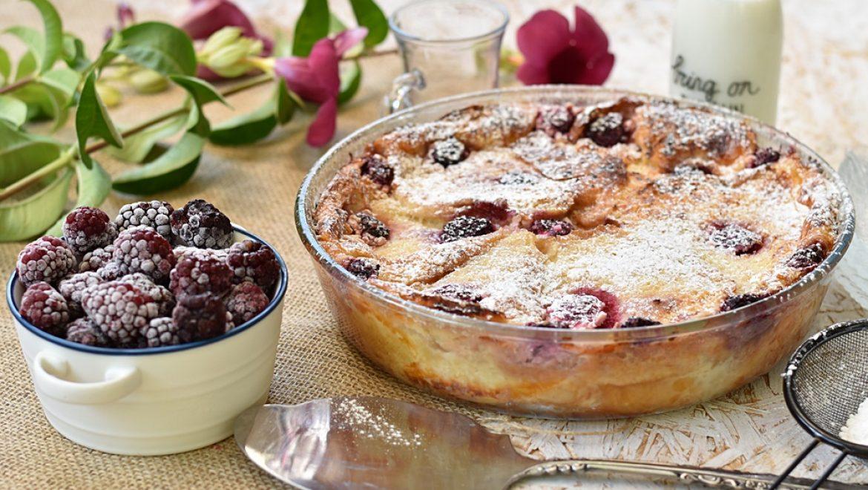 פודינג לחם (bread puding) או עוגת לחם מתוקה