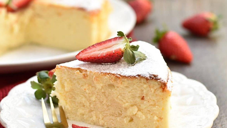 עוגת גבינה אפויה של ענבר אסולין