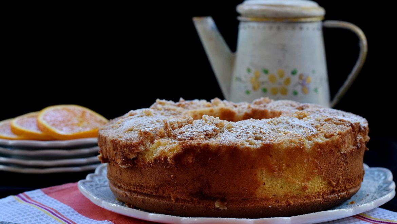 עוגת תפוזים ושטרוייזל