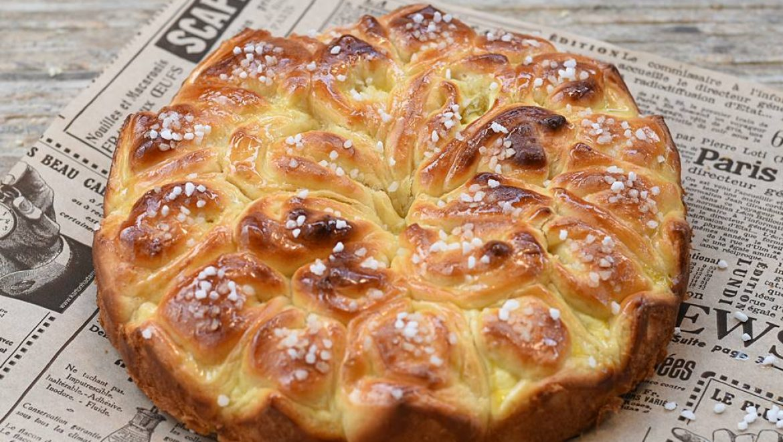עוגת גביניות בצורת פרח מהמם