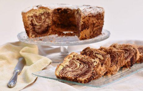 עוגת שייש אוורירית וגבוהה במיוחד