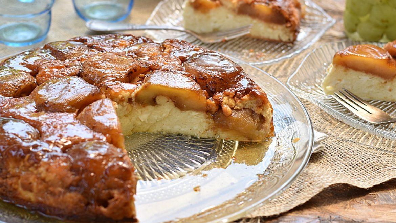 טארט טאטן תפוחים וגבינה טעימה במיוחד