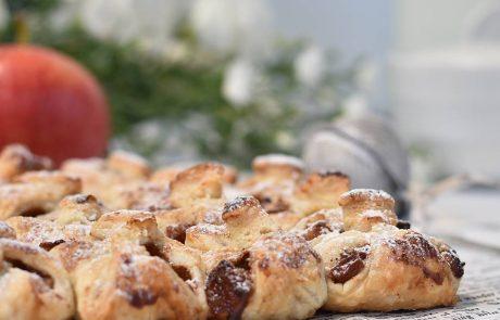 תפוחיות – מאפה בצק עלים עם תפוחים וקינמון