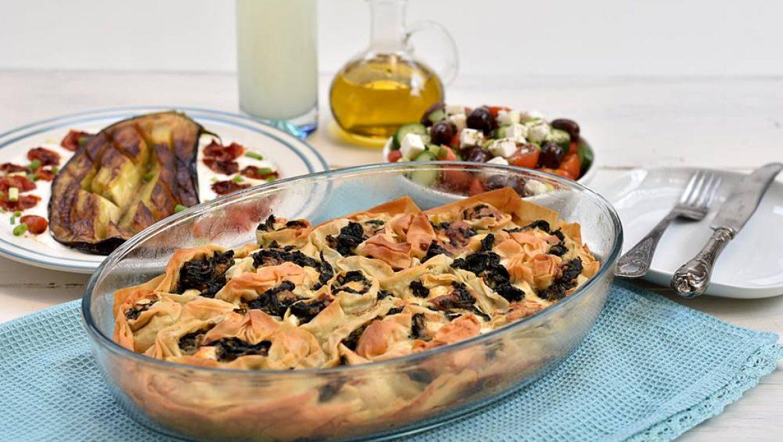 מאפה גבינות ותרד יווני – ספנקופיטה