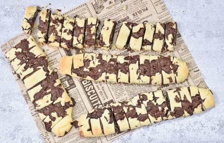 עוגיות שוקולד מגולגלות מתפוצצות