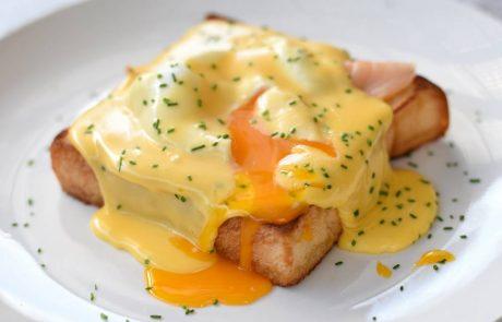 ארוחת בוקר בסגנון אגז בנדיקט