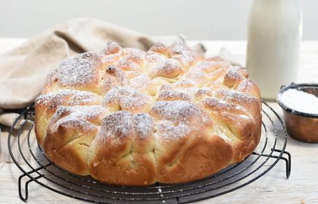 עוגת גביניות שמרים וניל מדהימה!