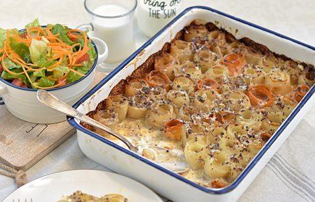 תפוחי אדמה ובטטה מוקרמים מושלמים