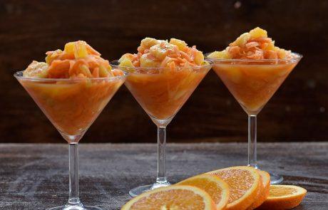 סלט גזר, תפוזים ובננות של גידוש
