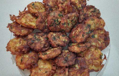 לטקע'ס – לביבות תפוחי אדמה