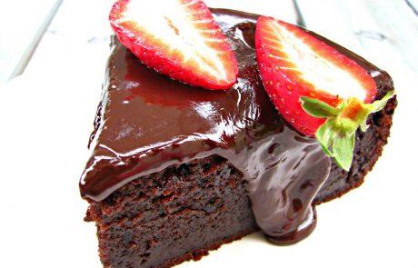 עוגת פאדג' שוקולד מטריפה