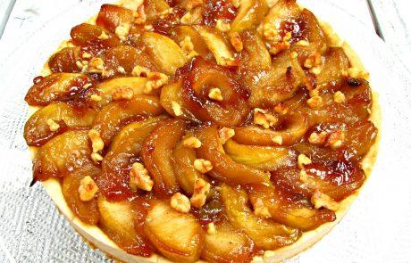 טארט תפוחים טבעוני וגם מה אני עוד עושה עם שמן קוקוס