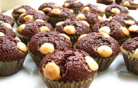 מאפינס שוקולד קטנים ומושלמים