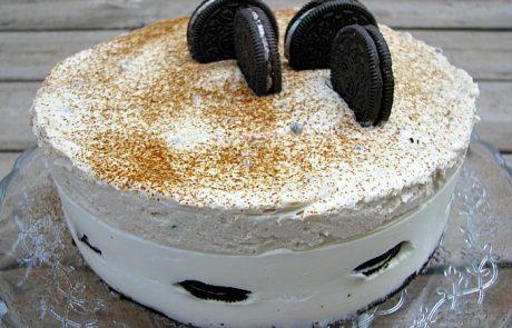 עוגת גבינה, אוריאו ומוס קפה