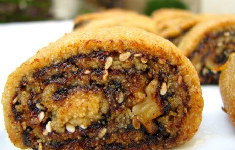 מקרוט או עוגיות סולת מדובשות