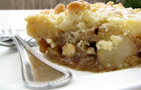 עוגת תפוחים ושטרוייזל הכי קלה בעולם