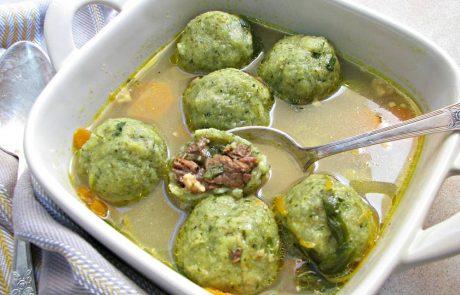 קובה ירוקה במרק עוף