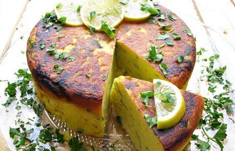 פשטידת תפוחי אדמה/מחמאר/מעקודה