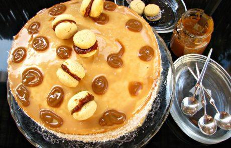 עוגת מוס אלפחורס של פיית העוגיות