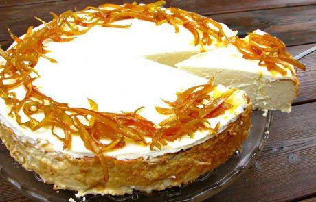 עוגת גבינה לימונית חלומית